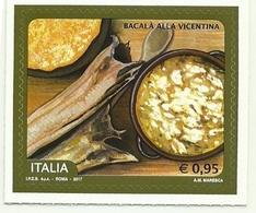 2017 - Italia 3812 Baccalà Alla Vicentina - Alimentazione