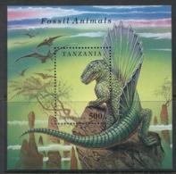 Tanzania 1994 Prehistoric Animals MS MUH - Swaziland (1968-...)