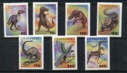 Tanzania 1994 Prehistoric Animals MUH - Swaziland (1968-...)