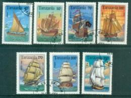 Tanzania 1994 Sailing Ships CTO Lot84817 - Swaziland (1968-...)