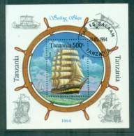 Tanzania 1994 Sailing Ships MS CTO Lot84826 - Swaziland (1968-...)