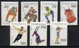 Tanzania 1994 Winter Olympics, Lillehammer MUH - Swaziland (1968-...)