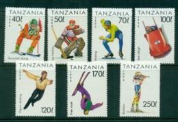Tanzania 1994 Winter Sports MUH - Swaziland (1968-...)
