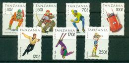 Tanzania 1994 Winter Sports MUH Lot21330 - Swaziland (1968-...)