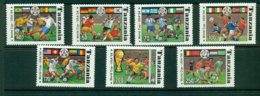 Tanzania 1994 World Cup MUH Lot21331 - Swaziland (1968-...)