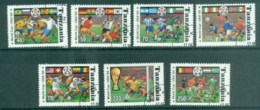 Tanzania 1994 World Cup Soccer CTO Lot84820 - Swaziland (1968-...)