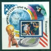 Tanzania 1994 World Cup Soccer MS CTO Lot84830 - Swaziland (1968-...)