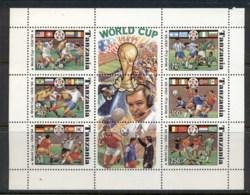 Tanzania 1994 World Cup Soccer MS MUH - Swaziland (1968-...)