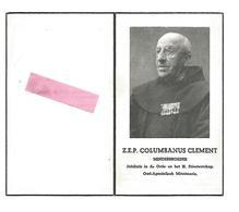 P 611. Z.E.P. C. CLEMENT -Minderbroeder -Oud-Apostolisch Miss. - °BOOM 1878 /TIELT /CHINA/EGYPTE/MAROKKO - +GENT 1960 - Devotion Images