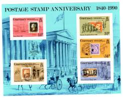 GUERNESEY - BLOC N°11 ** (1990) 150e Anniversaire De La Création Du Timbre-poste - Guernesey
