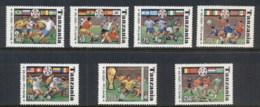 Tanzania 1994 World Cup Soccer MUH - Swaziland (1968-...)