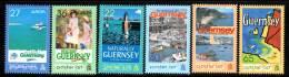 GUERNESEY -N°977/82 ** (2003) EUROPA + Art De L'affiche - Guernesey