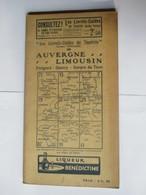 Livret Guides Du Touriste THIOLIER De 1923 - AUVERGNE / LIMOUSIN - Périgord Quercy Gorges Du Tarn -100 Pages - 20 Photos - Dépliants Touristiques