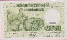 50 Frank 1945 Cinquante Francs 10 Dix Belgas Koninkrijk Royaume De Belgie Belgique Belgium Bankbiljet Banknote Billet - [ 2] 1831-... : Belgian Kingdom