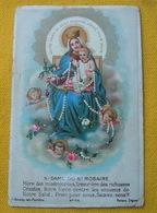 IMAGE PIEUSE Chromo Bonamy Pl 66  : NOTRE-DAME DU SAINT ROSAIRE ..../ HOLY CARD - Devotion Images