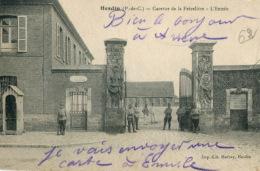 D62 - Hesdin - Caserne De La Frèzeliere - L'Entrée: Achat Immédiat - Hesdin
