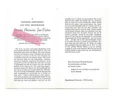 P 614. Broeder A.J. CIELEN - °HEES 1912 / Minderbroeder / +St-Babrbara-instituut Te LANAKEN 1981 - Devotion Images