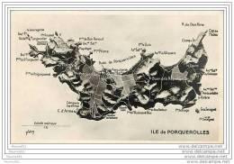 83 ILE DE PORQUEROLLES  - CPSM VOIR LES SCANS POUR PLUS DE RENSEIGNEMENTS BELLES PHOTOS - Porquerolles