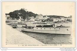 83 ILE DE PORQUEROLLES - PANORAMA VU SUR LA JETEE - Porquerolles