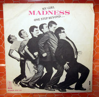"MADNESS ONE STEP BEYOND COVER NO VINYL 45 GIRI - 7"" - Accessori & Bustine"