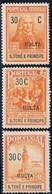 S. Tomé, 1925, 1/3, Imposto Postal, MH - St. Thomas & Prince