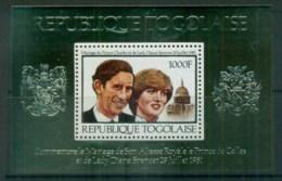 Togo 1981 Charles & Diana Royal Wedding MS MUH Lot81902 - Togo (1960-...)