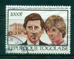Togo 1981 Charles & Diana Wedding FU Lot45271 - Togo (1960-...)