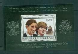 Togo 1981 Charles & Diana Wedding MS MUH Lot45276 - Togo (1960-...)