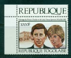 Togo 1981 Charles & Diana Wedding MUH Lot45269 - Togo (1960-...)