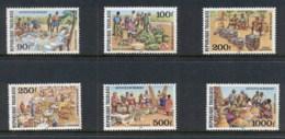Togo 1981 Market Activities Airmails MUH - Togo (1960-...)