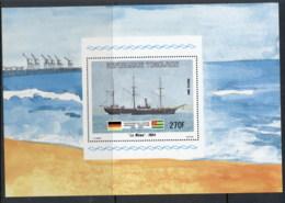 Togo 1984 German Ship Mowe MS MLH - Togo (1960-...)