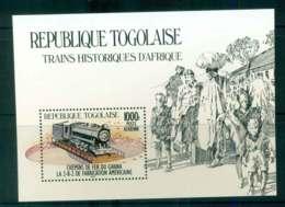Togo 1984 Trains Ghana Rail MS MUH Lot51985 - Togo (1960-...)