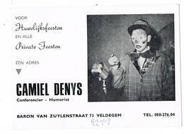 Veldegem: Camile Denys  Conferentier - Humorist - Unclassified