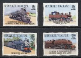 Togo 1984 Trains, Airmails MUH - Togo (1960-...)