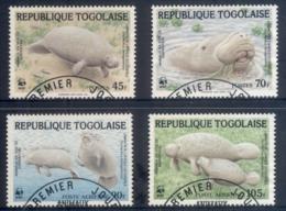 Togo 1984 WWF West African Manatee FU - Togo (1960-...)