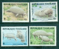 Togo 1984 WWF West African Manatee MUH Lot64112 - Togo (1960-...)