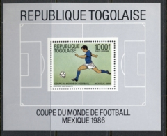 Togo 1986 World Cup Soccer Mexico MS MLH - Togo (1960-...)