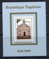 Togo 1986 Xmas Togoville Church MS MLH - Togo (1960-...)