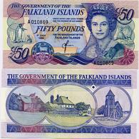 FALKLAND IS.        50 Pounds       P-16a       1.7.1990         UNC - Falkland