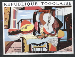 Togo 1988 Picasso Painting MS MLH - Togo (1960-...)