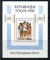 Togo 1988 Summer Olympics Seoul MS MLH - Togo (1960-...)