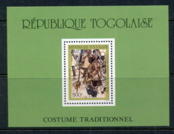 Togo 1988 Traditional Costumes MS MLH - Togo (1960-...)