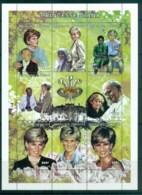 Togo 1997 Princess Diana In Memoriam MS MUH Lot82043 - Togo (1960-...)