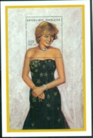 Togo 1997 Princess Diana In Memoriam, Dazzling Diana MS MUH - Togo (1960-...)