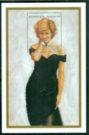 Togo 1997 Princess Diana In Memoriam, Elagant In Black MS MUH - Togo (1960-...)