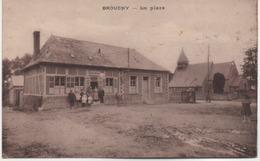 BROUCHY  LA PLACE   DEBIT DE BOISSONS - France