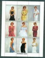 Togo 1997 Princess Diana In Memoriam, Portraits Of A Princess MS MUH - Togo (1960-...)