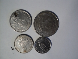PARAGUAY. LOT DE 4 PIECES DIFFERENTES DE 1986. ACIER - Paraguay