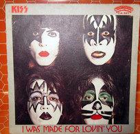 "KISS I WAS MADE FOR LOVIN' YOU COVER NO VINYL 45 GIRI - 7"" - Accessori & Bustine"