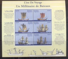 Togo 2000 Ships Sheetlet MUH - Togo (1960-...)